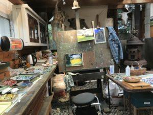 Mary Offermann's Studio in California